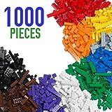 Barcaloo Building Bricks - 1,000 Piece Brick Building Kit - Compatible with all Major Brands