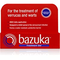 Bazuka Treatment Gel with Emery Board, 6g