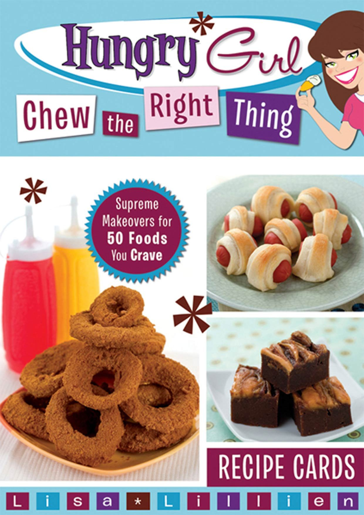 Hungry girl chew the right thing supreme makeovers for 50 foods you hungry girl chew the right thing supreme makeovers for 50 foods you crave lisa lillien 9780312610364 amazon books forumfinder Choice Image