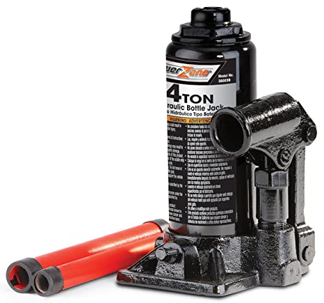 Amazon.com: Milestone Tools Powerzone 380039 4 Ton Steel Bottle Jack: Automotive