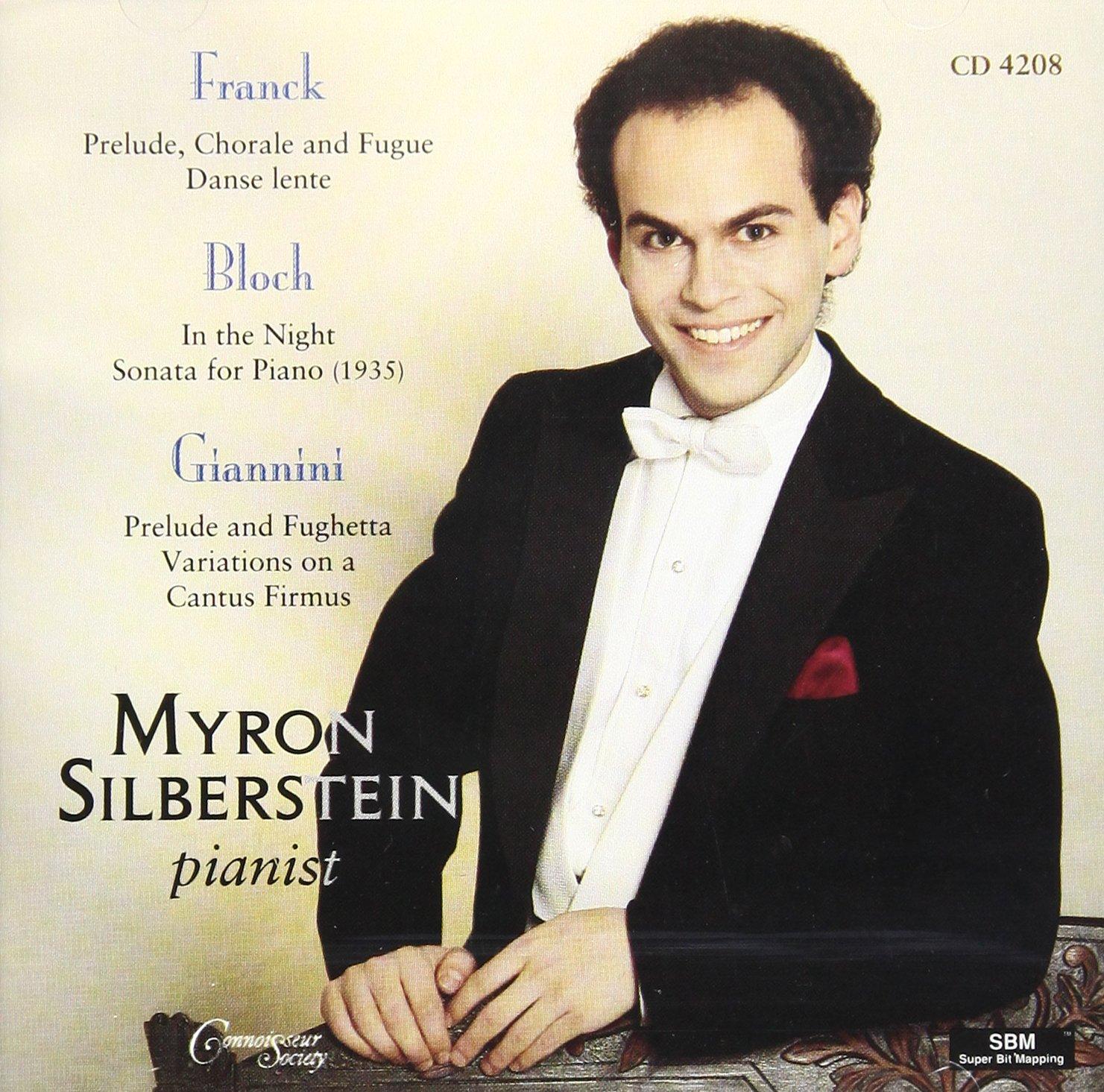 Franck/Bloch/Giannini : Piano Works