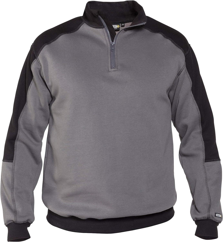 DASSY Basiel Zweifarbiges Sweatshirt