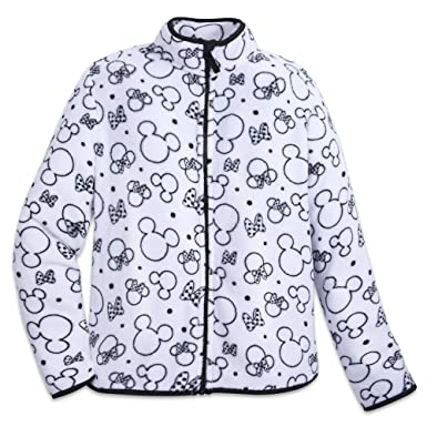 5ff101642 Disney Mickey and Minnie Mouse Zip Fleece Jacket for Women - Size ...