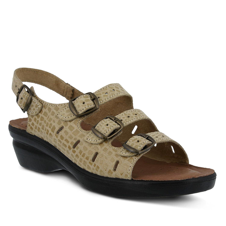 Flexus Women's Adriana Comfort Slingback Sandals B00WQB8MDS 35 M EU|Beige