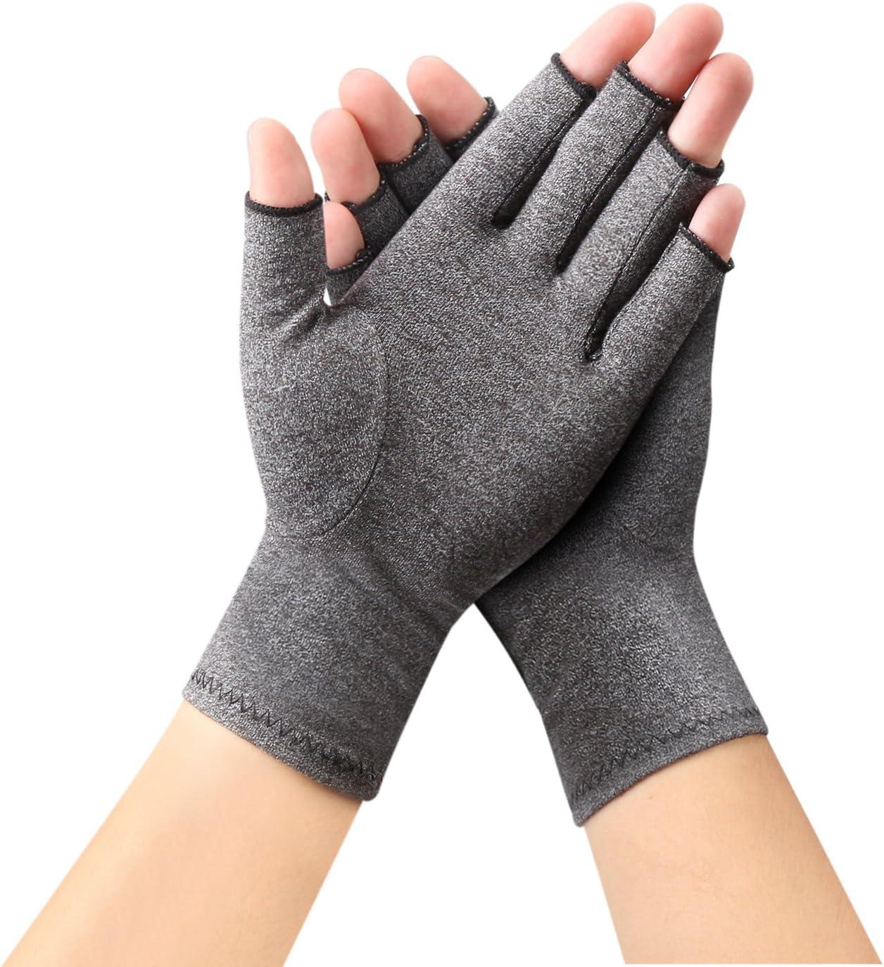 Arthritis Gloves by Sanbo Compression Gloves for Osteoarthritis Hand Gloves for Men & Women(Small)