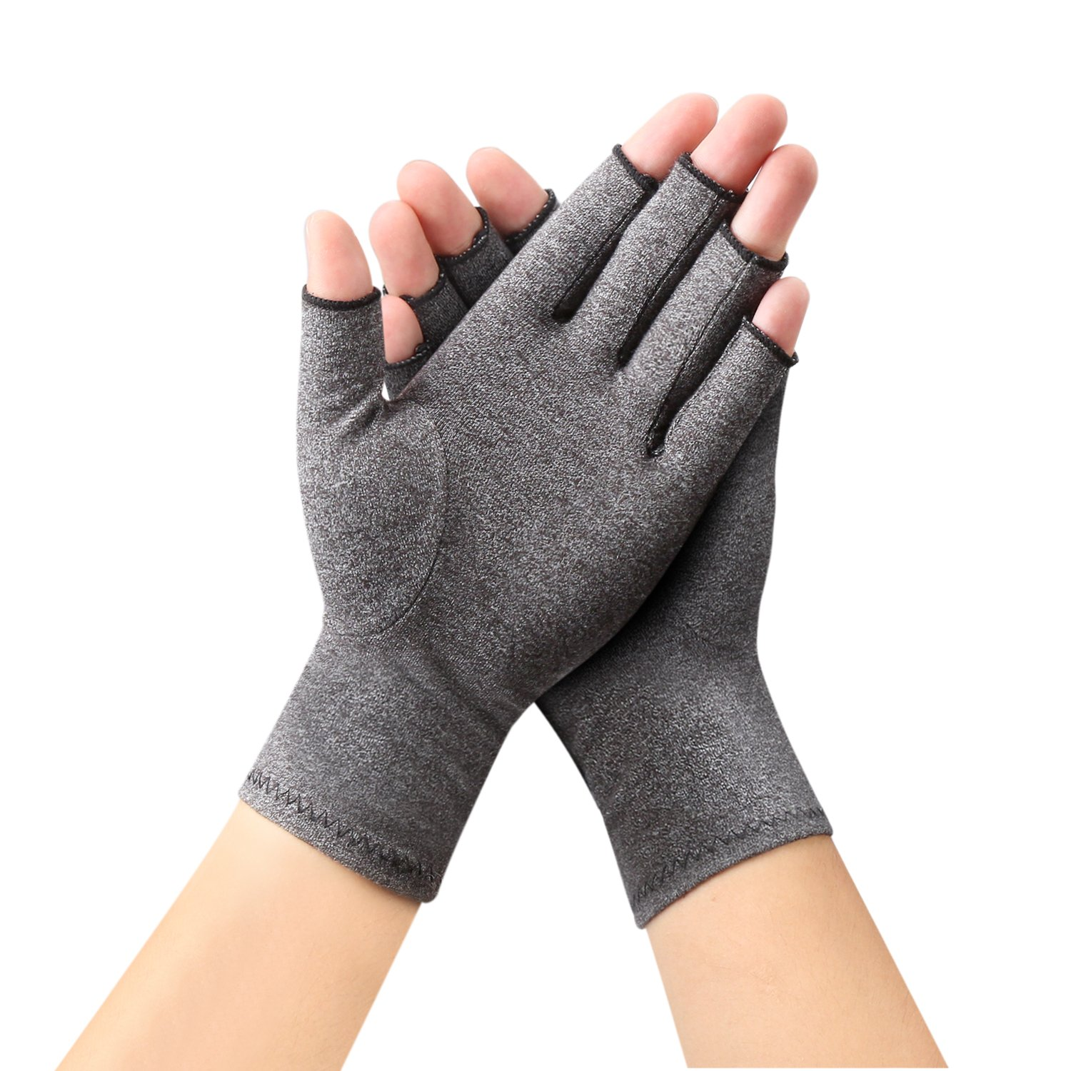 Arthritis Gloves by Sanbo Compression Gloves for Osteoarthritis Hand Gloves for Men & Women (Medium) ¡­