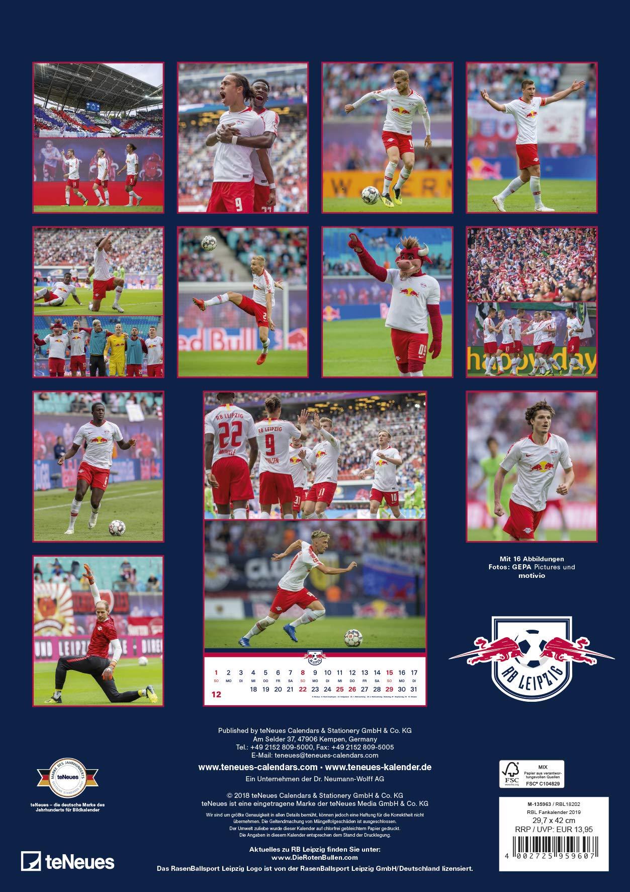 Rb leipzig kalender 2019