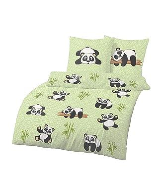 Dobnig Panda Bettwäsche 135x200 Bettwäsche Aus 100 Baumwolle 2