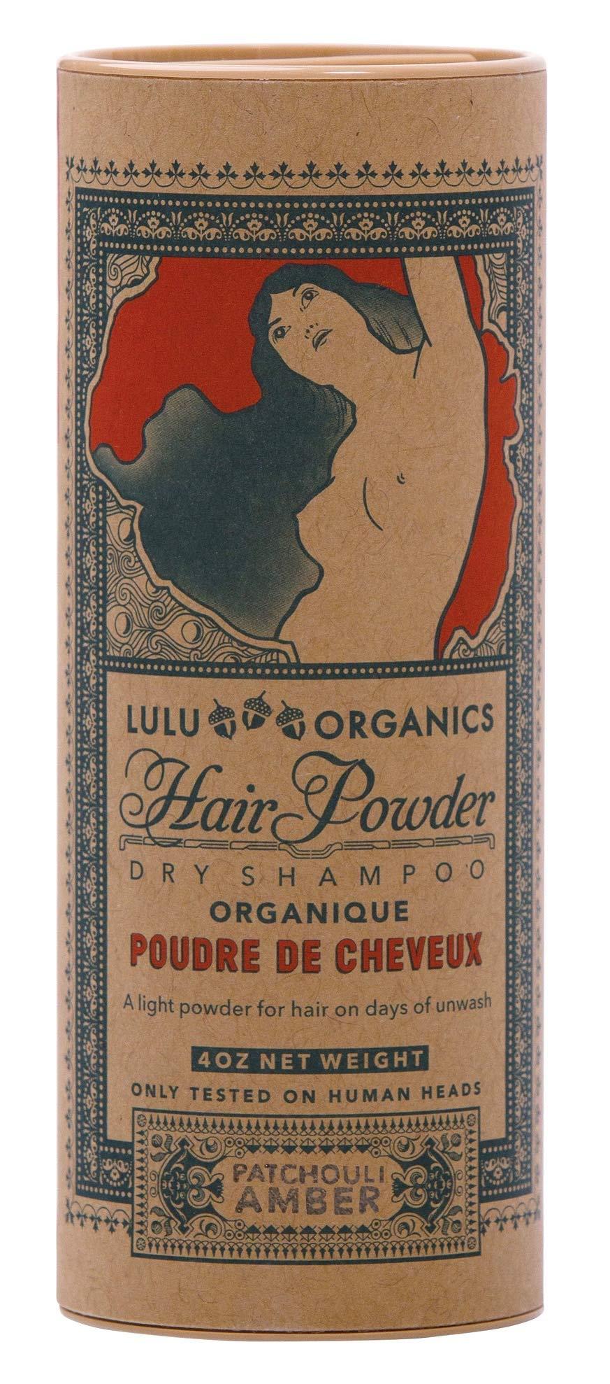 Lulu Organics Patchouli & Amber Hair Powder/Dry Shampoo - 4 oz by Lulu Organics