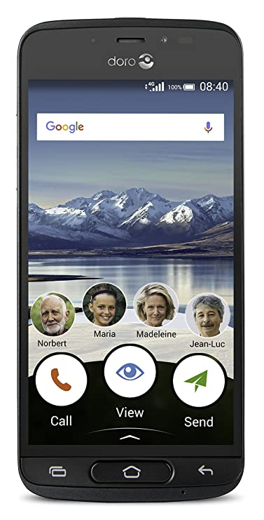 Doro 8040 - 16 GB - Black - Unlocked