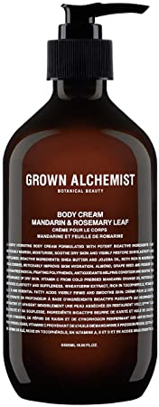 Grown Alchemist Body Cream – Mandarin Rosemary Leaf 500 Milliliters, 16.9 Ounces