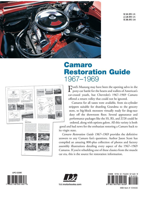 Camaro Restoration Guide 1967 1969 Jason Scott 0752748301603 67 Wiring Diagram Repair Guides Diagrams Books