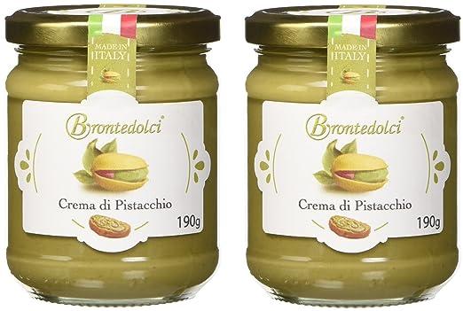 23 opinioni per 2 Vasetti- Crema di Pistacchio con il 40% di pistacchi di Sicilia, ideale per la