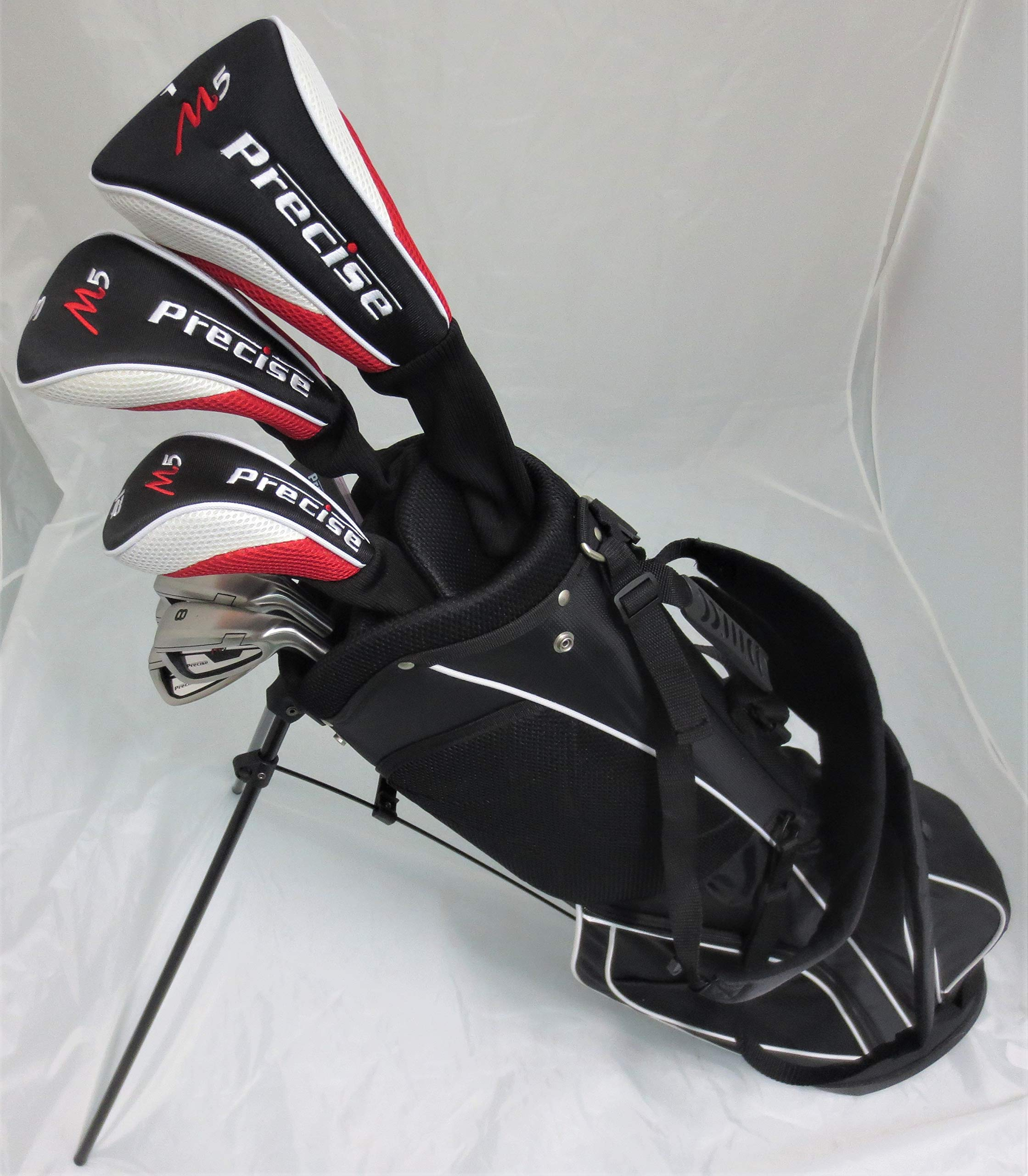Tartan Sports New Teen Golf Club Set Complete with Stand Bag for Teenagers Ages 13-16 Driver, Wood Hybrid, Irons Putter by Tartan Sports (Image #1)