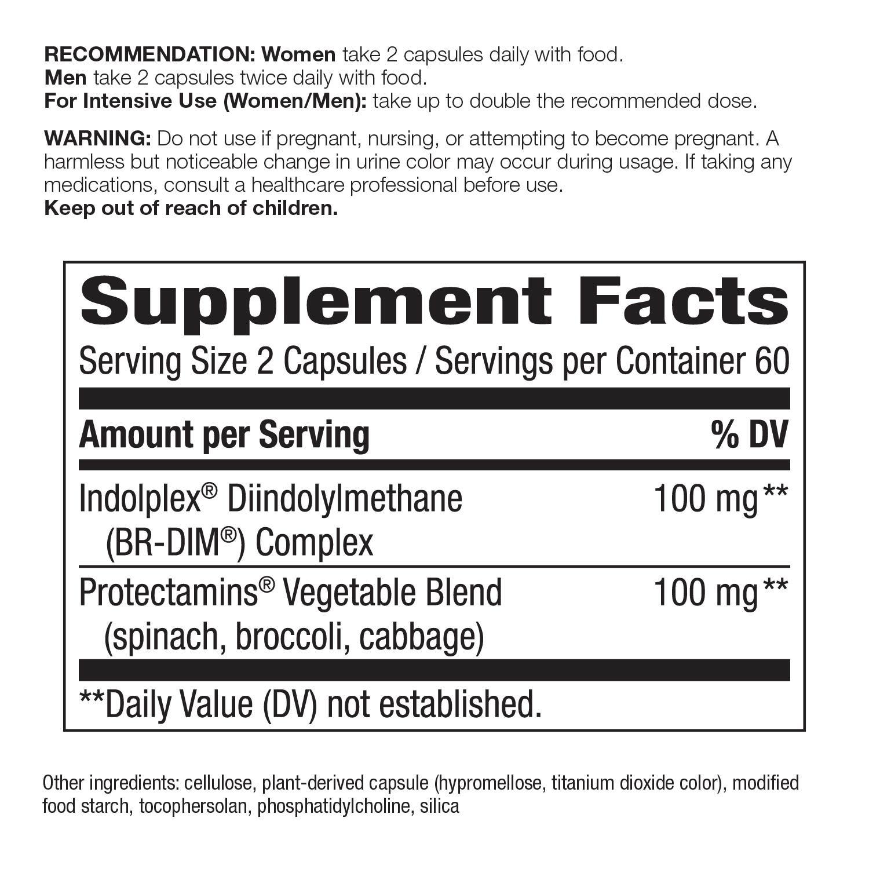 Amazon.com: Natures Way DIM-plus fórmula metabolismo ...