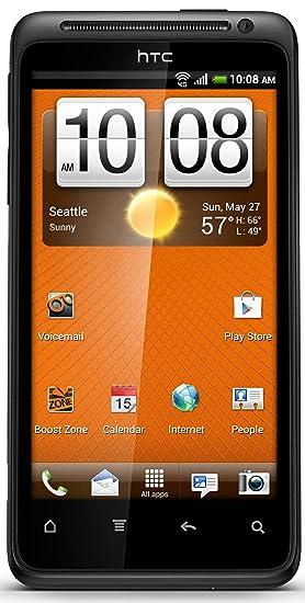 amazon com htc evo design 4g prepaid android phone boost mobile rh amazon com HTC EVO Design 4G Manual Sprint HTC EVO 4G Battery