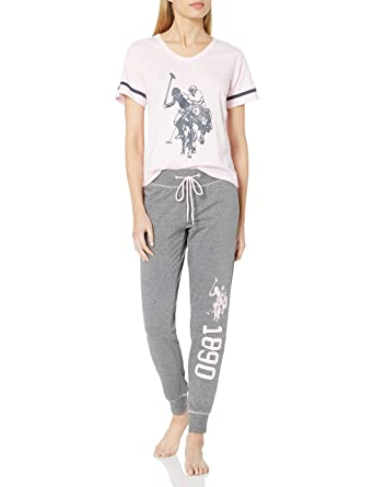 U.S. POLO ASSN. Mujer, 2 Piezas Camiseta de Manga Corta y Larga ...