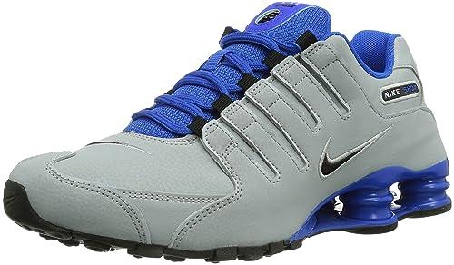 hot sale online c1f2c a031a Nike Shox NZ EU, Scarpe sportive, Uomo, Multicolore (Wlf Gry Blk