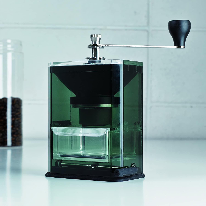 HARIO (ハリオ) 手挽き コーヒーミル クリア コーヒーグラインダー MXR-2TB ブラック