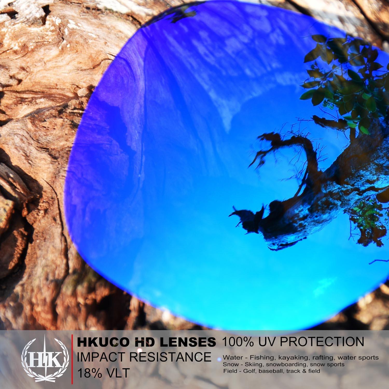 Hkuco Plus Mens Replacement Lenses For Oakley TwoFace Sunglasses ...