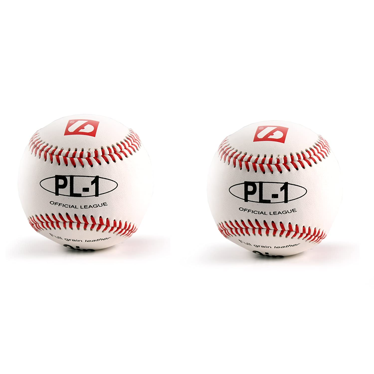 barnett PL-1 Elite match baseball ball size 9', 2 pieces, white