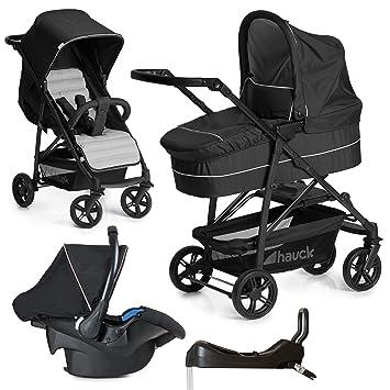 hauck Rapid 4 Plus Trioset Kinderwagen mit Tragewanne /& Babyschale Farbwahl