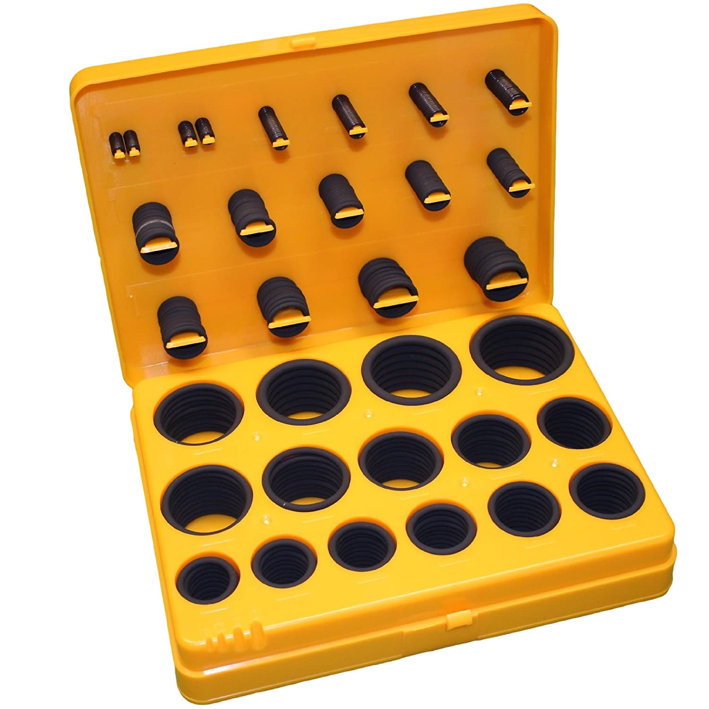 049 Buna-N O-Ring 1//16 Width 5-1//8 OD 5 ID Pack of 10 70A Durometer Black