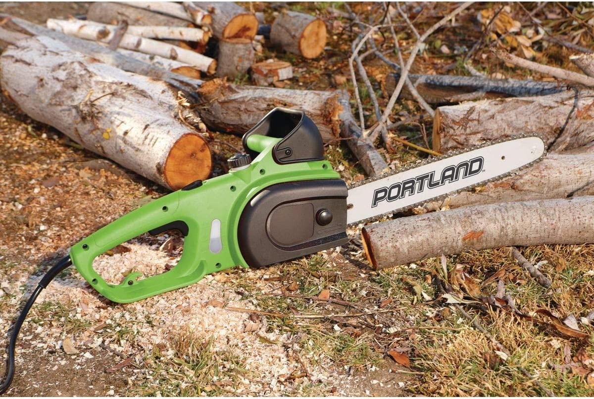 """BRAND NEW SEALED BOX POULAN 16/"""" 14 AMP ELECTRIC CORDED CHAINSAW PL1416"""