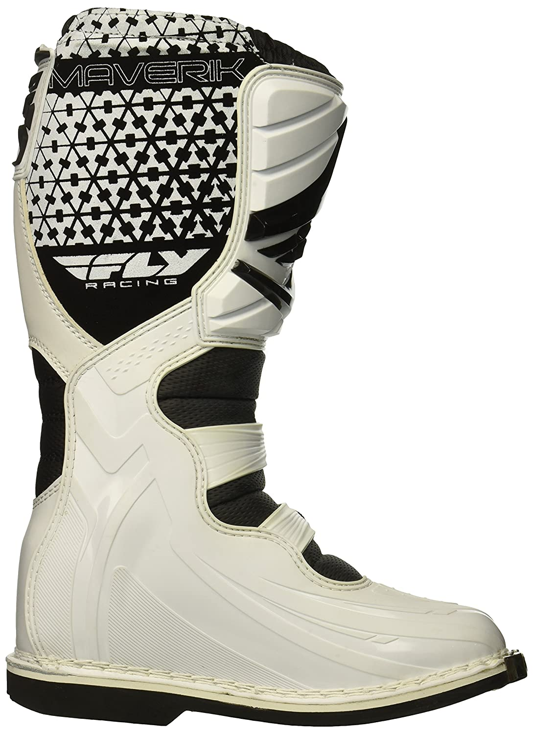Black, Size 12 Fly Racing Unisex Youth Maverik Mini MX Boots