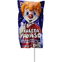 Marshmallow Lollipop with Chocolate and Gummies - Paleta Payaso (10 Pieces) by SWEET LITTLE MEXICO