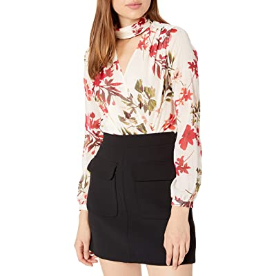 GUESS Women's Long Sleeve Camilla Bodysuit at Women's Clothing store