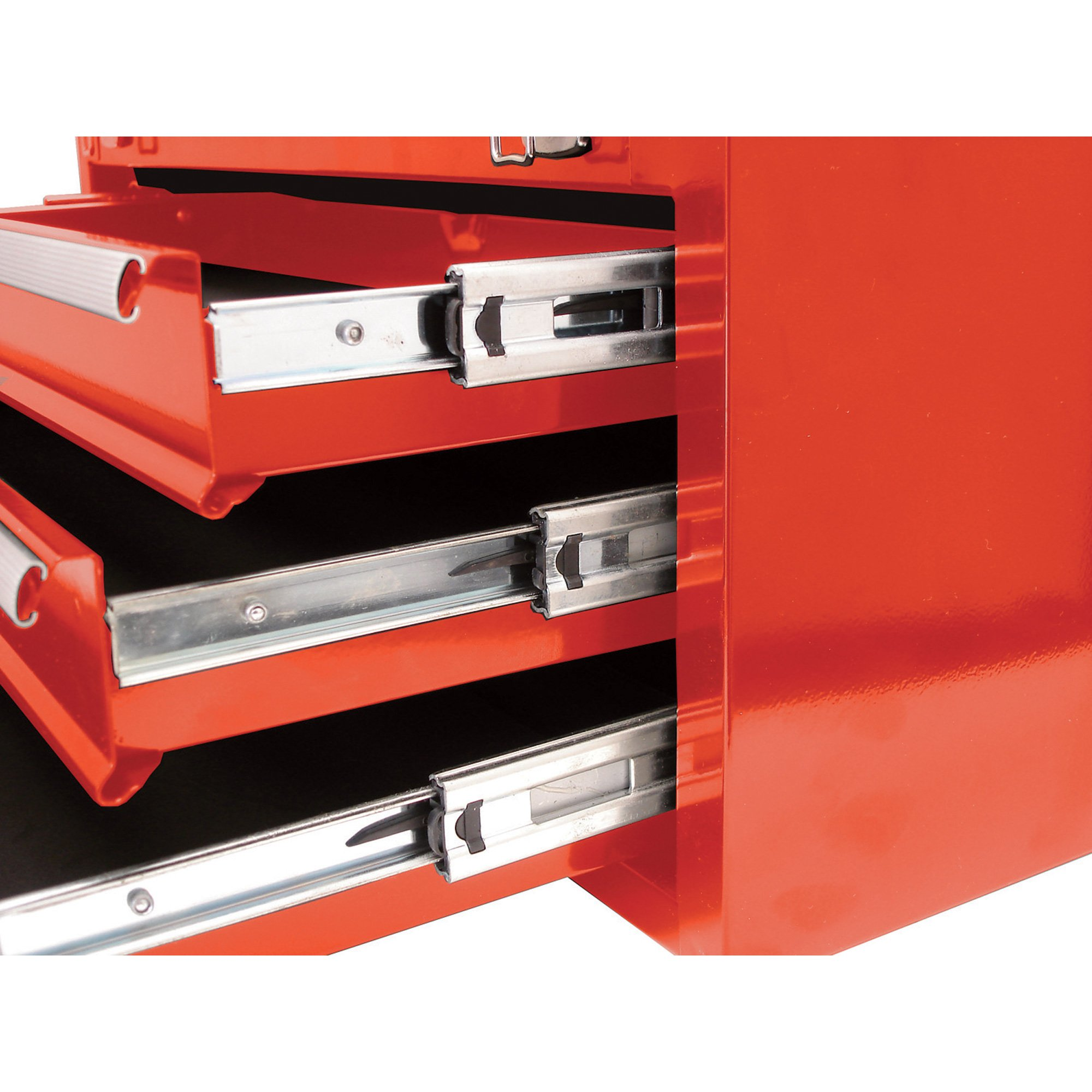 Homak RD02010720 H2PRO Series 72-Inch 10-Drawer Top Chest, Red