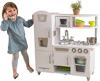 White Vintage Play Kitchen