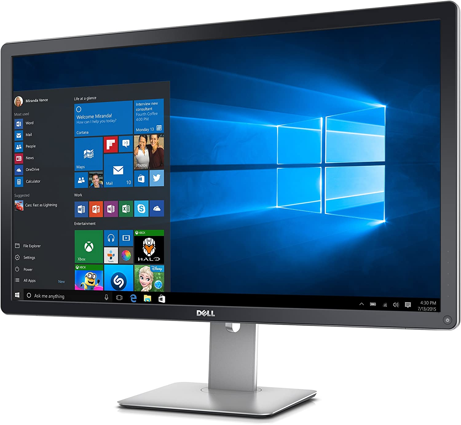 Dell Ultrasharp UP3216Q Monitor