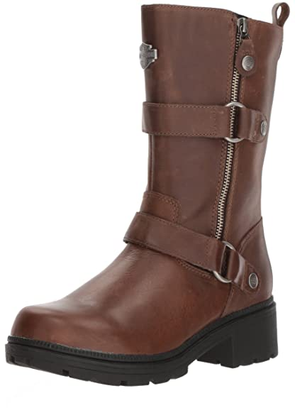 b26631d8f42799 Harley Davidson Women s Ardsley Motorcycle Boot  Amazon.co.uk  Shoes   Bags