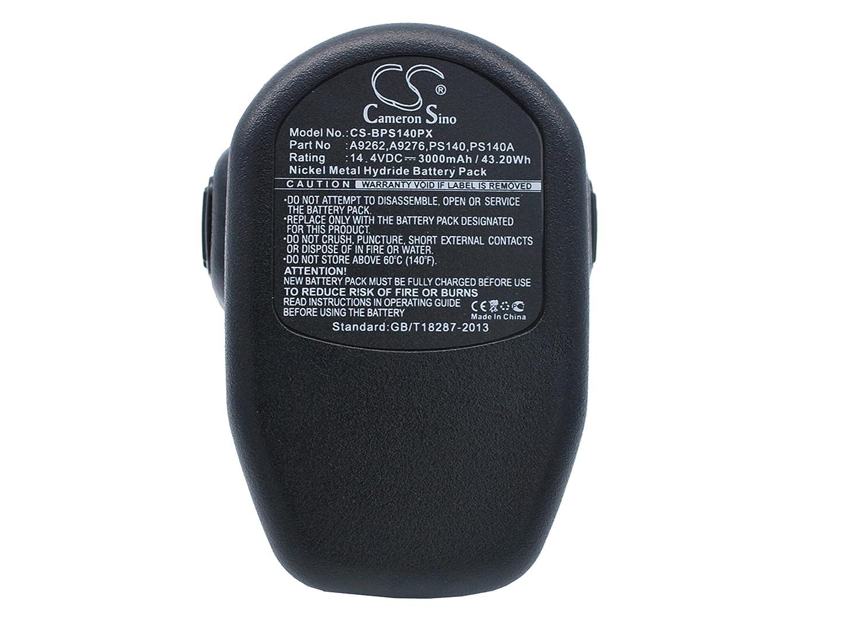 Mah wh batteria di ricambio per nero decker hp kd