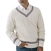 Hope & Heny Men's V-Neck Cricket Sweater