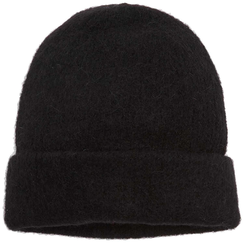 PIECES Damen Strickmütze Pcjosefine Hood Noos Grau (Medium Grey Melange) One Size 17083180