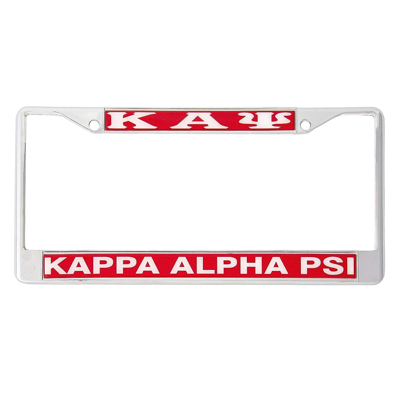 Kappa Alpha Psi Collegiate Fraternity Sorority License plate