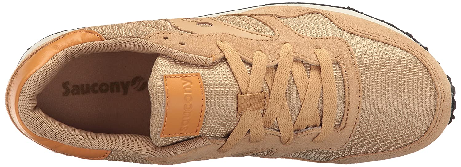 Saucony Originals Women's DXN Trainer Fashion Sneaker B019OADPSK 5 B(M) US|Tan