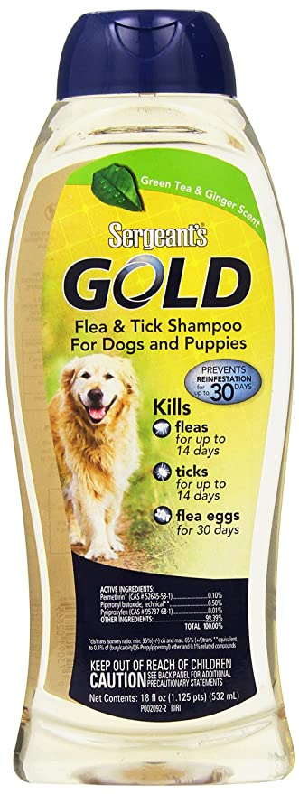 Sergeant gold flea and tick