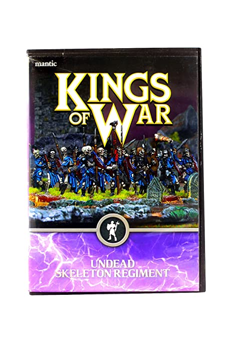 Kings of War: Undead: Skeleton Regiment