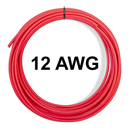 12 Awg Premium Automotive Wire 20 Feet Sxl High Temp Chemical And