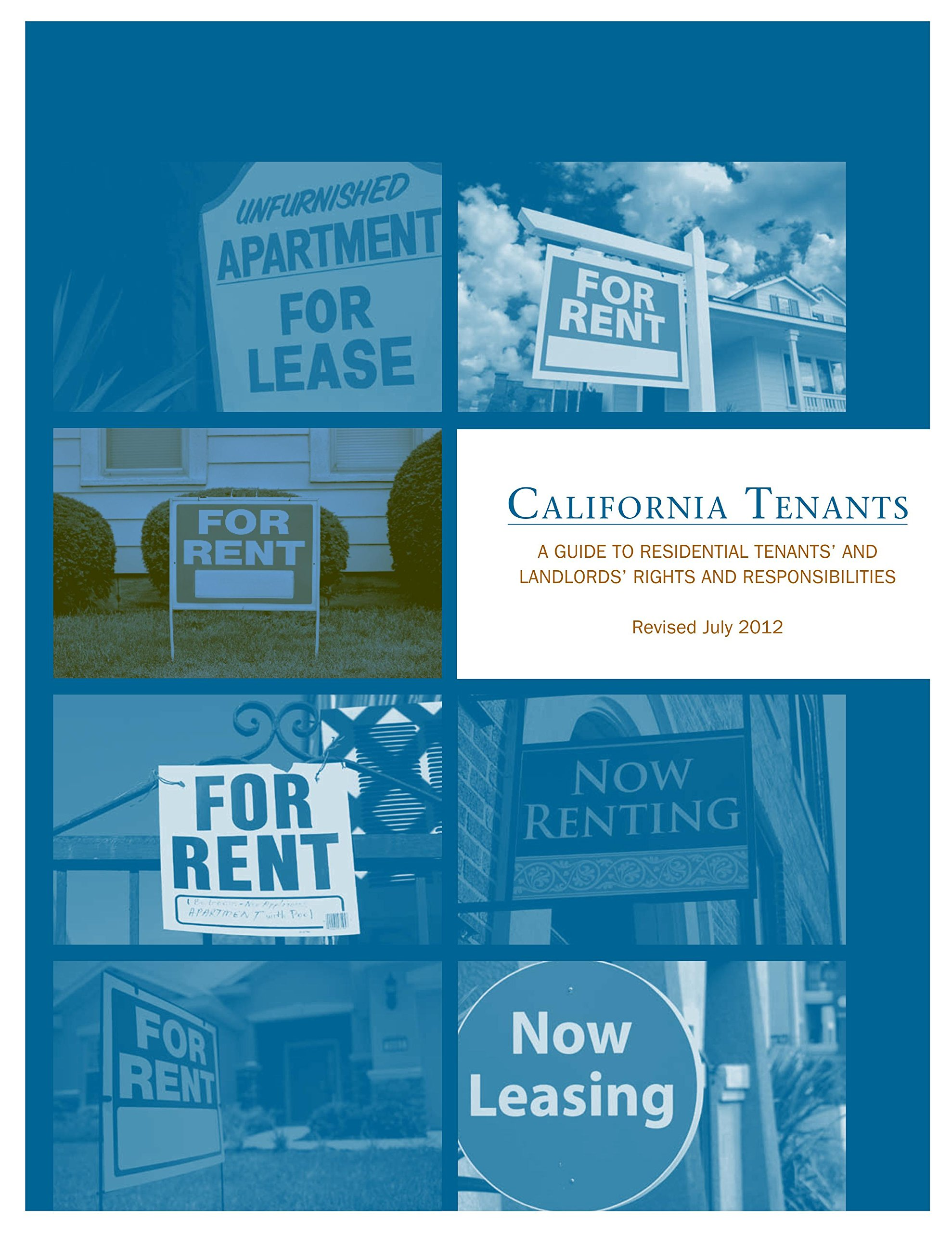 California tenants a guide to residential tenants' and.