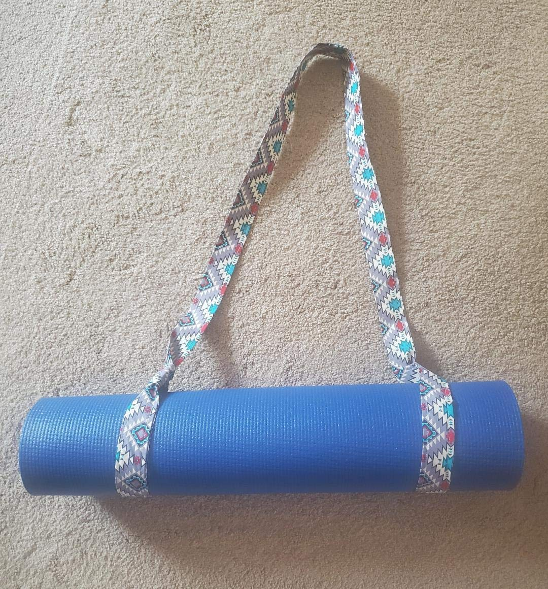 Gift for Her Yoga Mat Carrier Yoga Mat Sling Beautiful Yoga Mat Strap Yoga Christmas