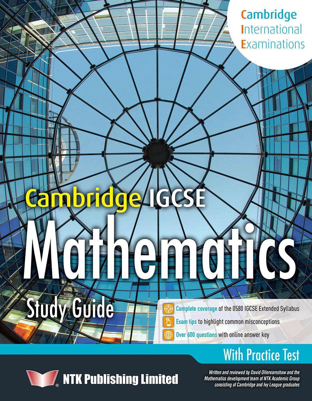 Cambridge IGCSE Mathematics Study Guide: David Ollerearnshaw