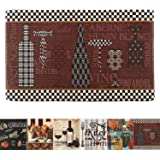 Farmhouse Kitchen Mats Cushioned Anti-Fatigue Comfort Mat for Home & Office Ergonomically Engineered Memory Foam Kitchen…