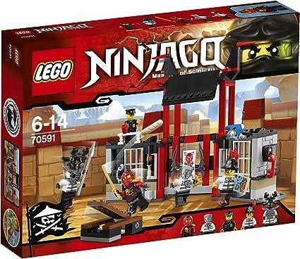 Amazon.com: LEGO Ninja go Escape. kuriputariamu Prison 70591 ...
