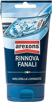 AREXONS RINNOVA FANALI 150 gr Lucida fari auto, pasta lucidatura