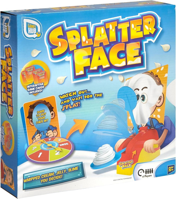 Grafix Splatter Face Family Fun Juego de niños: Amazon.es: Juguetes y juegos